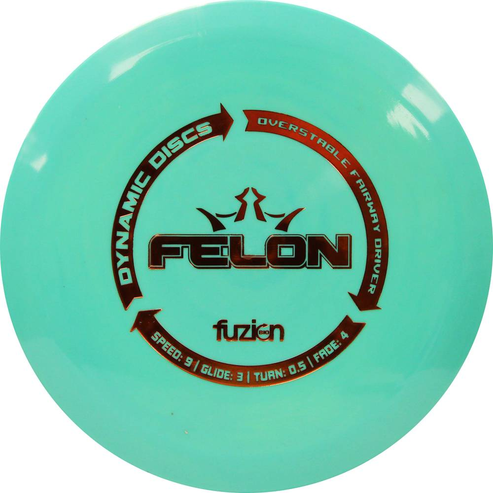 Dynamic Discs BioFuzion Felon Fairway Driver Golf Disc