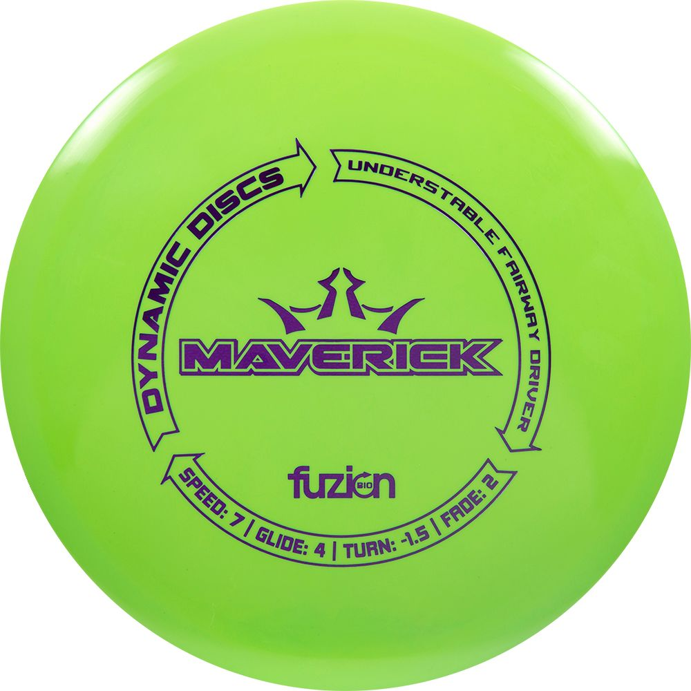Dynamic Discs BioFuzion Maverick Fairway Driver Golf Disc