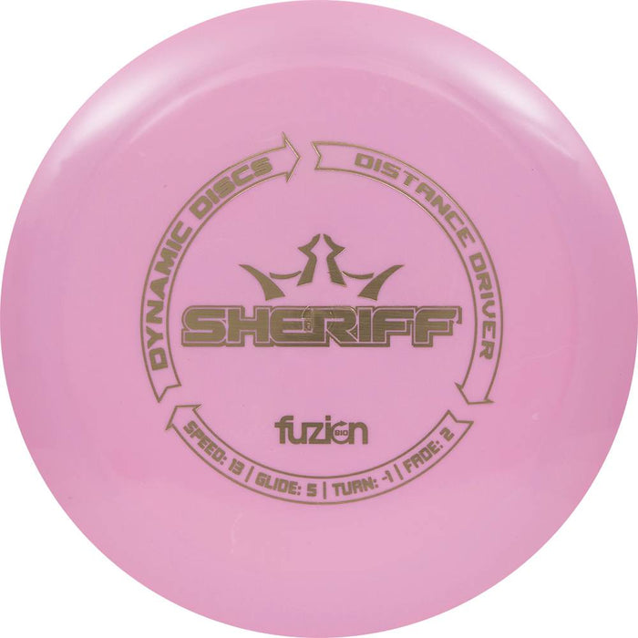 Dynamic Discs BioFuzion Sheriff Distance Driver Golf Disc