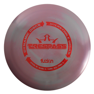 Dynamic Discs BioFuzion Trespass Distance Driver Golf Disc