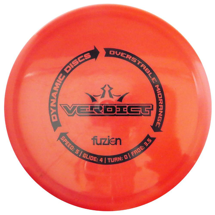 Dynamic Discs BioFuzion Verdict Midrange Golf Disc