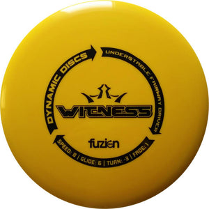 Dynamic Discs BioFuzion Witness Fairway Driver Golf Disc