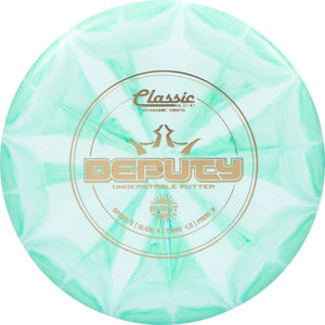 Dynamic Discs Classic Blend Burst Deputy Putter Golf Disc