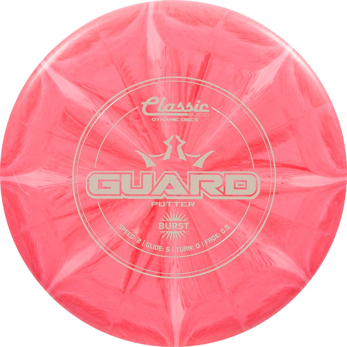Dynamic Discs Classic Blend Burst Guard Putter Golf Disc