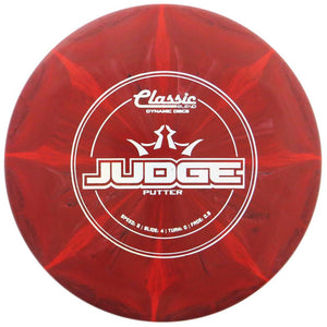 Dynamic Discs Classic Blend Burst Judge Putter Golf Disc