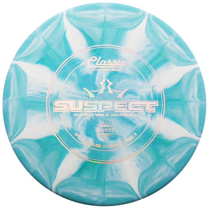 Dynamic Discs Classic Blend Burst Suspect Midrange Golf Disc