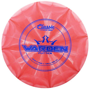 Dynamic Discs Classic Blend Burst Warden Putter Golf Disc