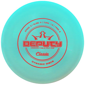 Dynamic Discs Classic Line Deputy Putter Golf Disc