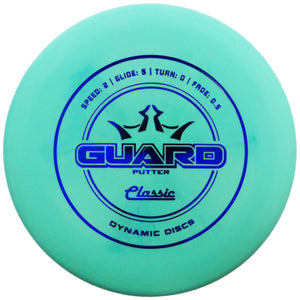 Dynamic Discs Classic Line Guard Putter Golf Disc