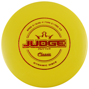 Dynamic Discs Classic Line Judge Putter Golf Disc