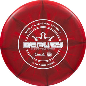 Dynamic Discs Classic Line Burst Deputy Putter Golf Disc