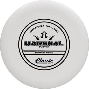 Dynamic Discs Classic Soft Marshal Putter Golf Disc