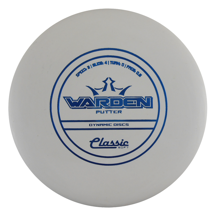 Dynamic Discs Classic Soft Warden Putter Golf Disc