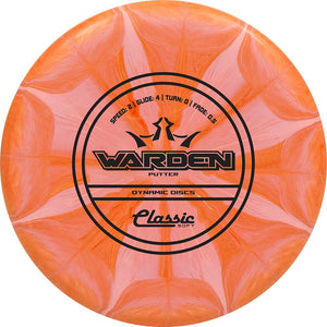 Dynamic Discs Classic Soft Burst Warden Putter Golf Disc