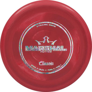 Dynamic Discs Classic Super Soft Marshal Putter Golf Disc