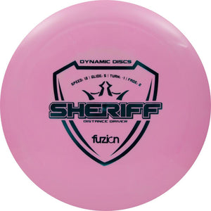Dynamic Discs Fuzion Sheriff Distance Driver Golf Disc
