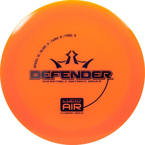Dynamic Discs Lucid AIR Defender Distance Driver Golf Disc