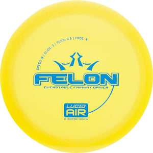 Dynamic Discs Lucid AIR Felon Fairway Driver Golf Disc