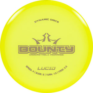 Dynamic Discs Lucid Bounty Midrange Golf Disc