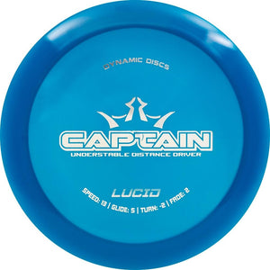 Dynamic Discs Lucid Captain Distance Driver Golf Disc