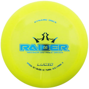 Dynamic Discs Lucid Raider Distance Driver Golf Disc