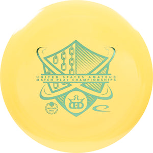 Dynamic Discs Limited Edition 2019 US Am Match Play Championships BioFuzion Raider Distance Driver Golf Disc