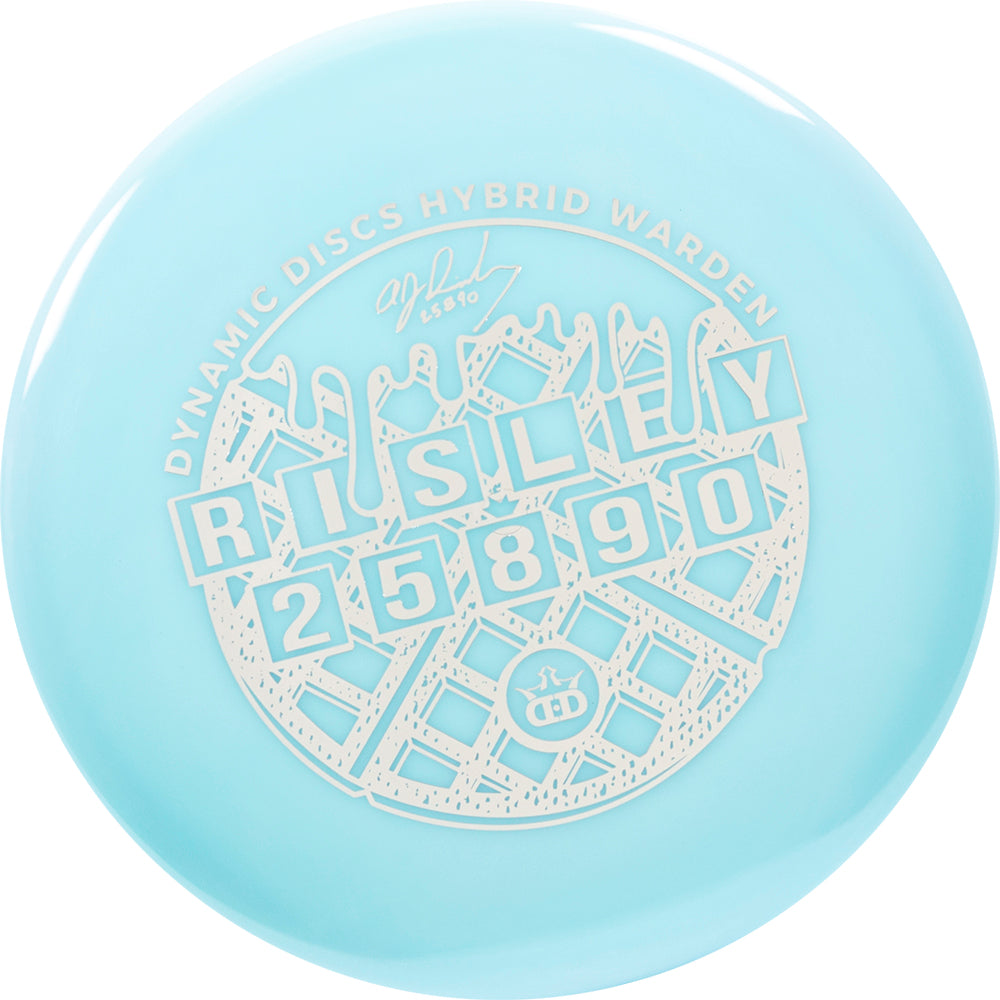 Dynamic Discs Limited Edition 2019 Team Series A.J. Risley Hybrid Warden Putter Golf Disc