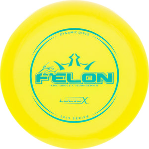 Dynamic Discs Limited Edition 2019 Team Series Eric Oakley Lucid-X Felon Fairway Driver Golf Disc