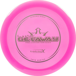Dynamic Discs Limited Edition 2019 Team Series Paige Bjerkaas Lucid-X Getaway Fairway Driver Golf Disc