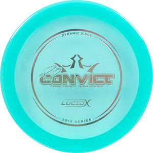 Dynamic Discs Limited Edition 2019 Team Series Paige Pierce Lucid-X Convict Fairway Driver Golf Disc