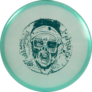 Dynamic Discs Limited Edition 2020 Team Series A.J. Risley Chameleon Lucid-X Warden Putter Golf Disc