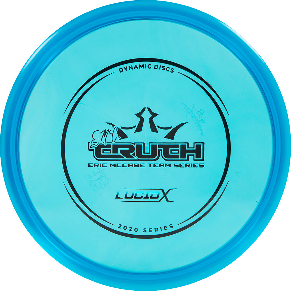 Dynamic Discs Limited Edition 2020 Team Series Eric McCabe Lucid-X EMAC Truth Midrange Golf Disc