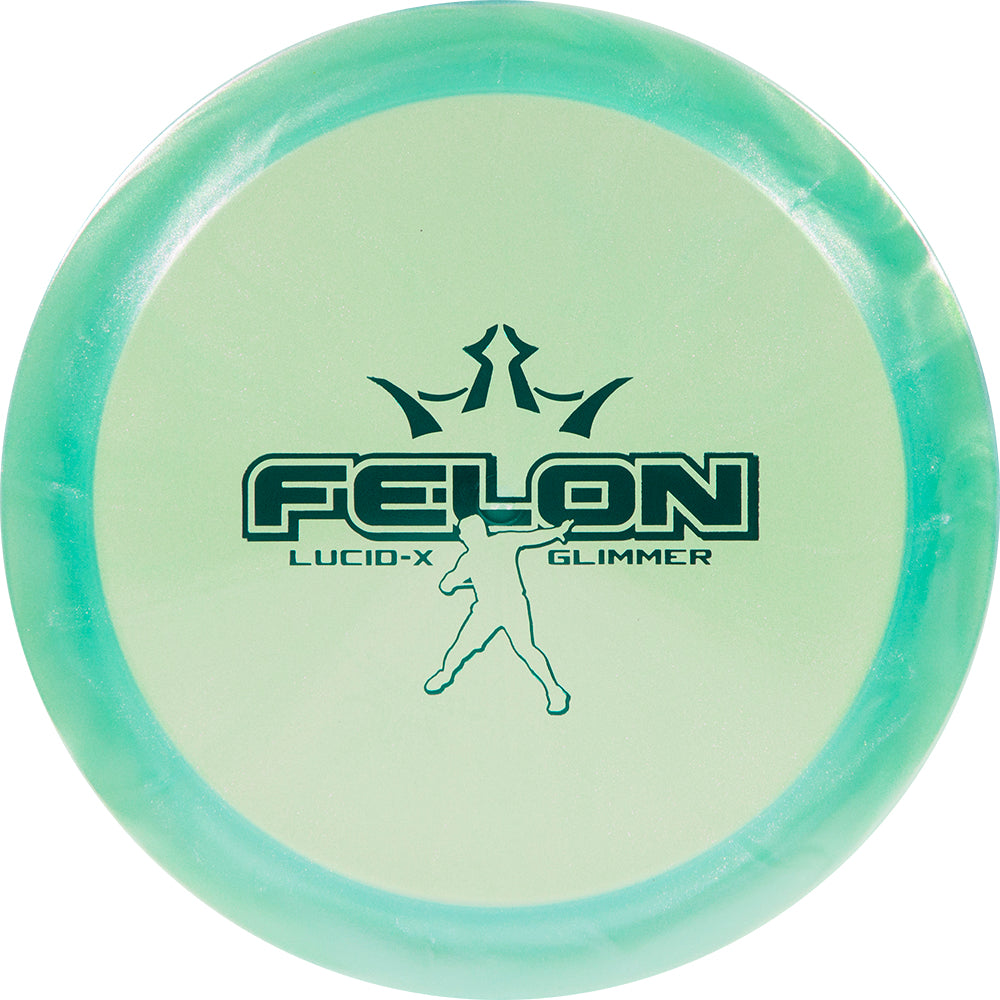 Dynamic Discs Limited Edition 2020 Team Series Eric Oakley Glimmer Lucid-X Felon Fairway Driver Golf Disc