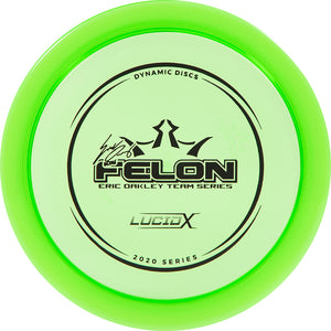 Dynamic Discs Limited Edition 2020 Team Series Eric Oakley Lucid-X Felon Fairway Driver Golf Disc