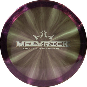 Dynamic Discs Limited Edition 2020 Team Series Zach Melton Glimmer Lucid-X Maverick Fairway Driver Golf Disc