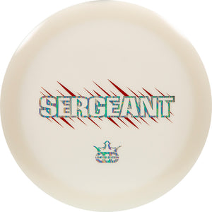 Dynamic Discs Limited Edition Bar Stamp Hybrid Sergeant Distance Driver Golf Disc