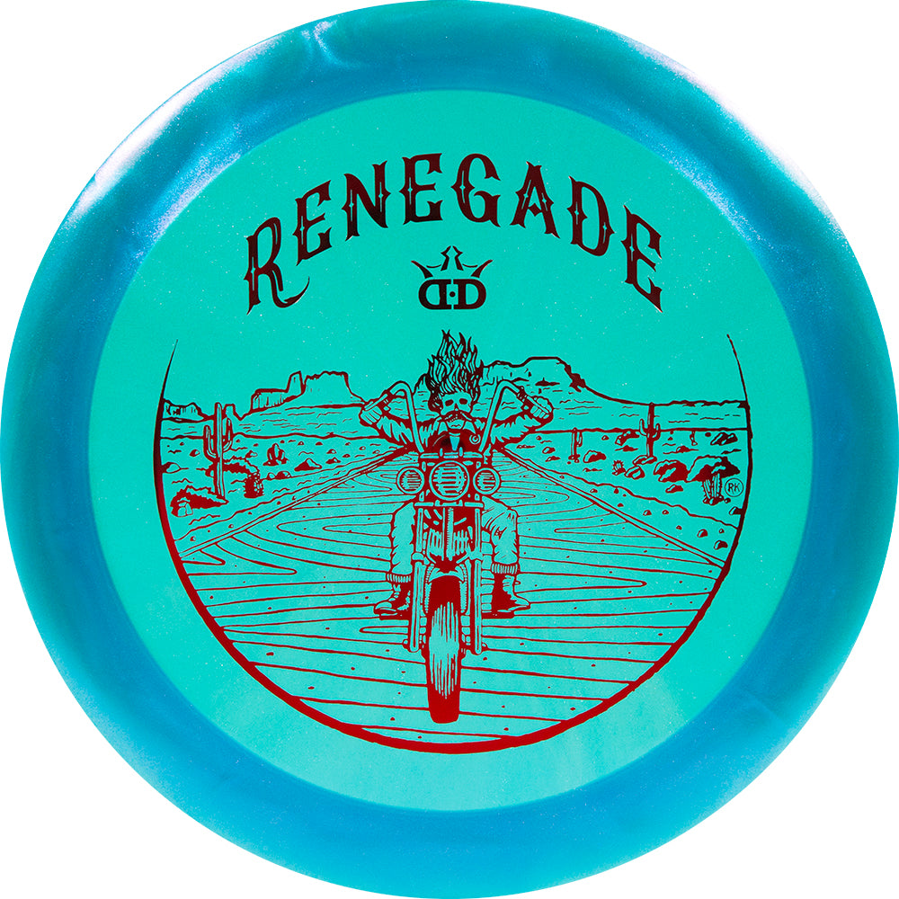Dynamic Discs Limited Edition Glimmer Lucid-X Renegade Distance Driver Golf Disc