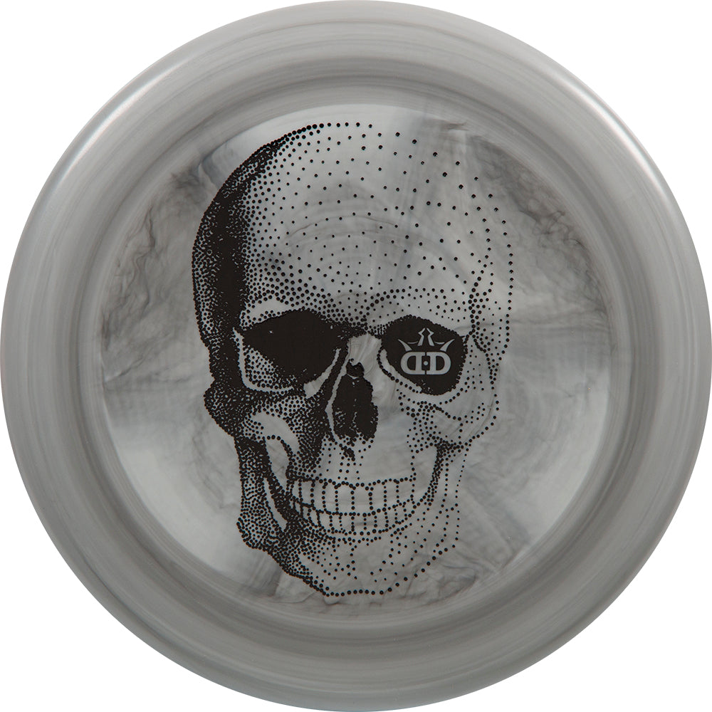Dynamic Discs Limited Edition Happy Skull Classic Blend Judge Putter Golf Disc