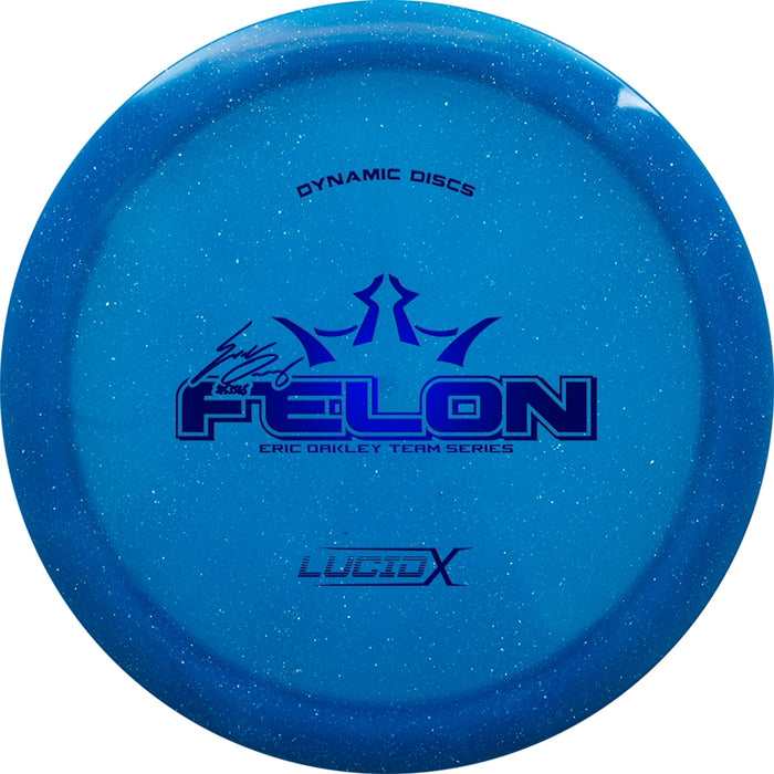 Dynamic Discs Limited Edition 2018 Team Series Eric Oakley Lucid-X Felon Fairway Driver Golf Disc