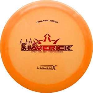 Dynamic Discs Limited Edition Team Series Zach Melton Lucid-X Maverick Fairway Driver Golf Disc
