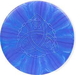 Dynamic Discs Engraved Trilogy Classic Blend Burst Judge Mini Marker Disc