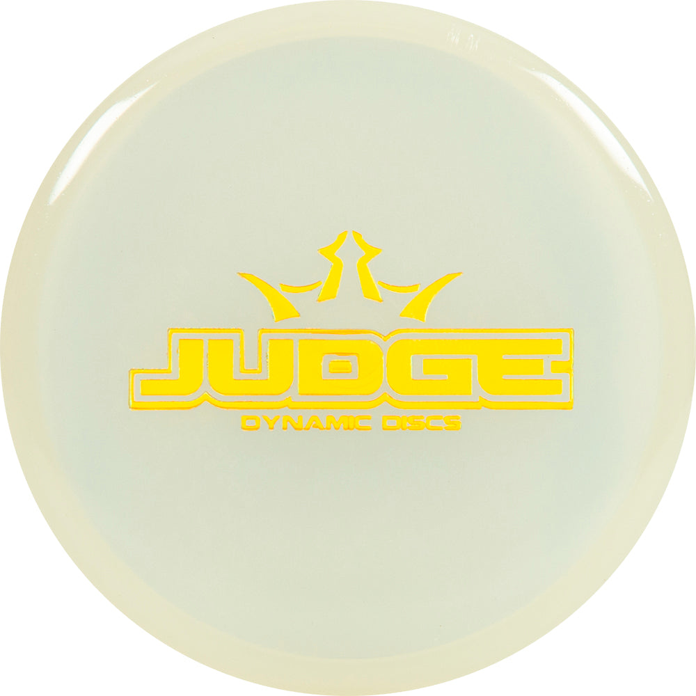 Dynamic Discs Bar Stamp Moonshine Glow Lucid Judge Mini Marker Disc