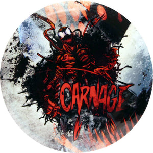 Dynamic Discs Marvel Carnage DyeMax Grunge Breakout Fuzion Judge Putter Golf Disc