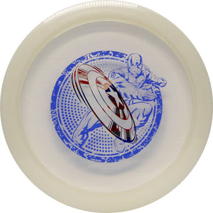 Latitude 64 Marvel Captain America 3-D Opto Line Ballista Distance Driver Golf Disc