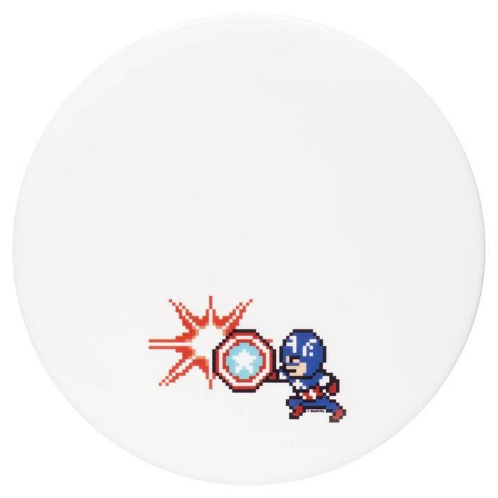 Dynamic Discs Marvel Captain America DyeMax 8-Bit Fuzion EMAC Truth Midrange Golf Disc