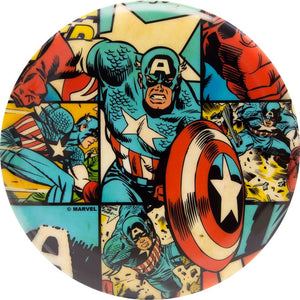 Dynamic Discs Marvel Captain America DyeMax Comic Panel Fuzion EMAC Truth Midrange Golf Disc