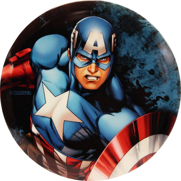 Dynamic Discs Marvel Captain America DyeMax Close and Personal Fuzion Suspect Midrange Golf Disc