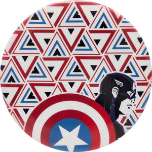 Dynamic Discs Marvel Captain America DyeMax Panorama Fuzion EMAC Truth Midrange Golf Disc