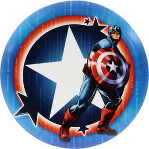 Dynamic Discs Marvel Captain America DyeMax Star Badge Fuzion Truth Midrange Golf Disc