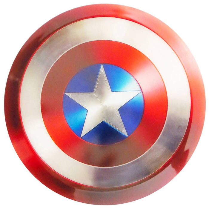 Dynamic Discs Marvel Captain America DyeMax Shield Fuzion Warden Putter Golf Disc